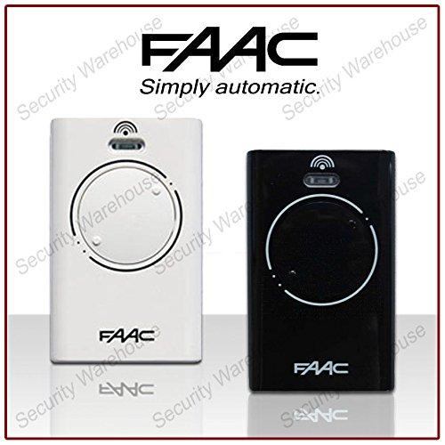 FAAC XT2 868SLH 2 toetsen sleutelhanger, afstandsbediening, transmitter, elektrische poort, garage