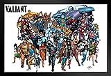 Pyramid America Valiant Comics Universe Superheroes Logo