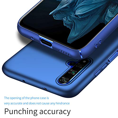 Kqimi Case for Huawei Honor 20/Nova 5T/Honor 20S Ultrathin Lightweight Matte Phone Case Simple Shockproof Scratchproof Full Body Case Compatible with Huawei Honor 20/Nova 5T/Honor 20S (2019) 6.26'Blau - 3