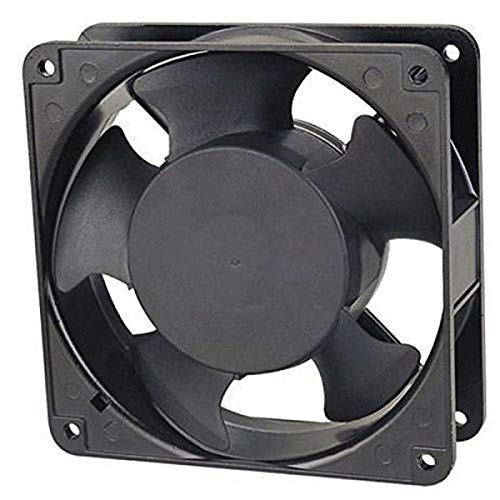 Professional Grade Products AA9251HB-AT AC-Fan, Ball Bearing, Term, 115/60V, 34.0 CFM, 90 mm x 90 mm x 25 mm