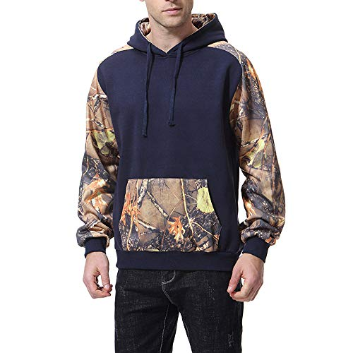 FRAUIT Mannen capuchon herfst winter jas capuchon mannen print lange mouwen capuchon sweatershirt top blouse sweatjas gebreide jas met opstaande kraag en ritssluiting S-XXL