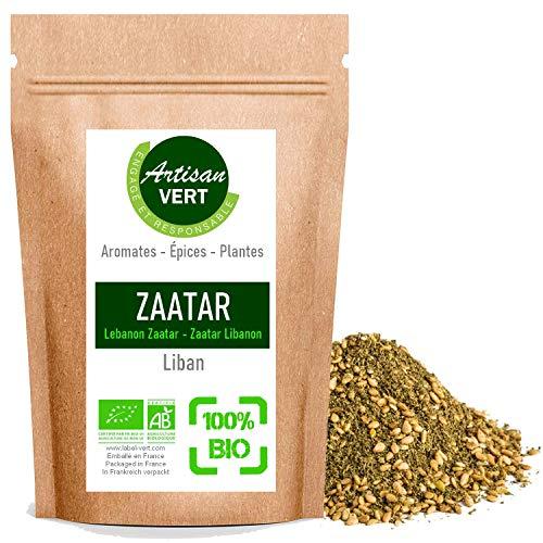 Epices Zaatar zatar Libanais BIO, mélange d'épices pour cuisine libanaise biologique (100g)