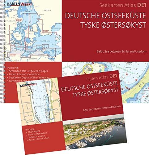 SeeKarten Atlas DE1 | Deutsche Ostseeküste: Westliche Ostsee zwischen Schlei und Usedom