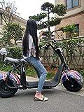 RFV Voiture électrique de Petite Dame, vélo Adulte, Petite Voiture de Voyage, Scooter Pliant, adapté aux Voyages, Voyage, sécurité/Noir / 125 * 55cm