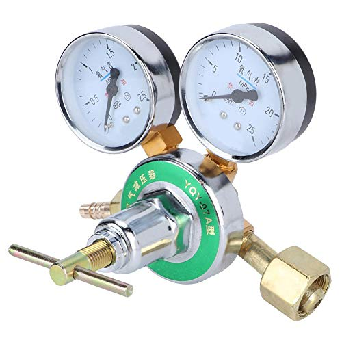 Duokon Brass Pressure Regulator Mig Tig Welding Meter Gauge Oxygen Gas Regulator Gauge Gas Cylinder Pressure Reducer Reducing Valve Equipments
