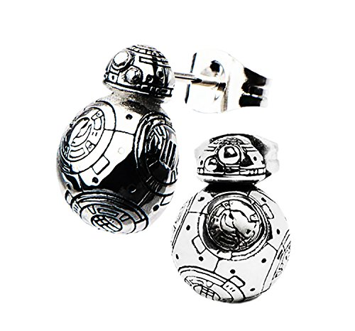 BB8 Star Wars Stud Earrings With Gift Box from Outlander Gear