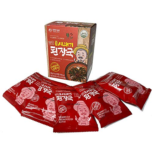 シレギ(大根葉)デンジャングック5食(10gX5袋) フリーズドライ即席みそ汁 韓国食品 韓国料理 韓国ラーメン