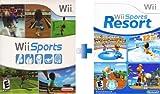 Wii Sports Game + Wii Sports Resort Game [Wii]