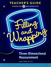 Connected Mathematics 3, Filling and Wrapping: Three-Dimensional Measurement, Teacher's Guide, 9780328901050, 0328901059, 2018