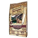 Natural Greatness - Pienso para Gatos Natural Sin Cereales Wild Instinct Gatitos y Adultos con Malta para prevenir Bolas de Pelo 6 Kg | ANIMALUJOS