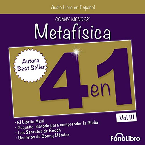 Metafísica 4 en 1: Vol. III [Metaphysics 4 in 1: Vol. 3] Titelbild