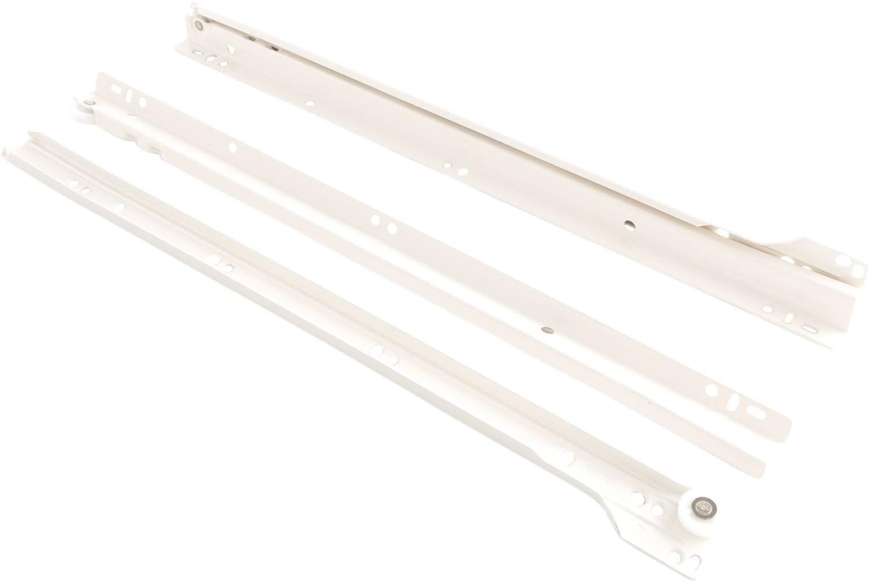 BS430 E colore: bianco BLUM Guida per cassetti