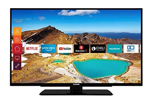 Telefunken XU43G521 109 cm (43 Zoll) Fernseher (4K Ultra HD, Triple Tuner, Smart TV, HDR10, Prime Video)