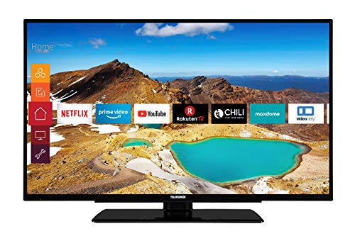 Telefunken XU55G521 140 cm (55 inch) televisie (4K Ultra HD, Triple Tuner, Smart TV, HDR10, Prime Video)
