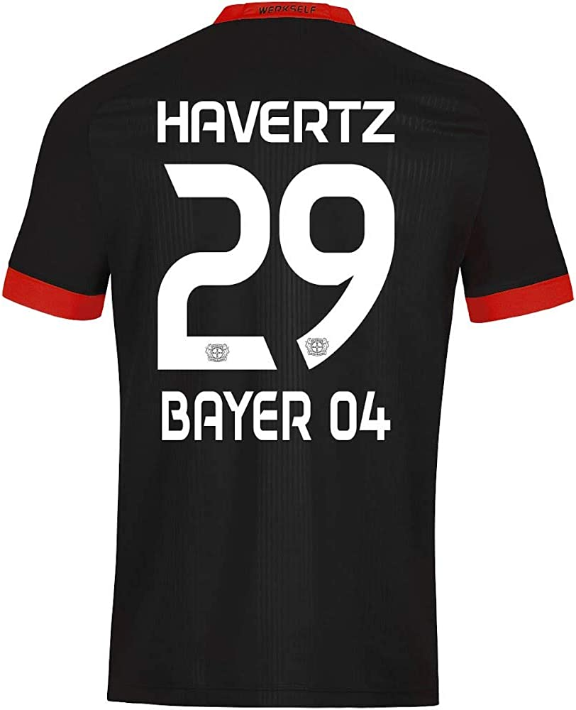 JAKO Bayer Leverkusen Havertz 29 Home Jersey 2020-2021
