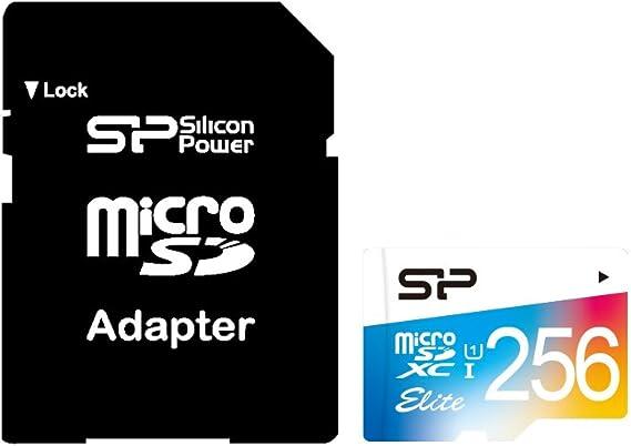 Silicon Power Elite 256 Gb Microsdxc Uhs Class 10 Speicher Flash