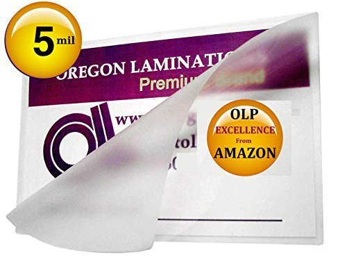 Qty 200 5 Mil 6 x 9 Laminating Pouches Hot Laminator Sleeves by Oregon Lamination Premium