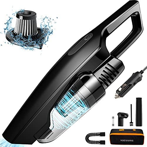 Car Vacuum, CherylonCar Portable Car Vacuum Cleaner High Power 150W/8000Pa, Handheld...
