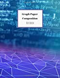 Graph Paper Composition Notebook: Grid Paper, Quad Paper Notebook, Quad Ruled 5x5, Large (8.5 x 11 inches) - 110 Pages, Blue & Violet Cover