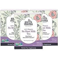 3-Pack Earth Mama Organic No More Milk Tea Bags (16-Count)