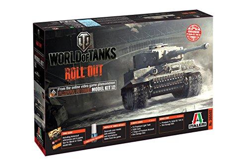 Italeri 510036502 - 1:35 Panzerkampfwagen VI Tiger World of Tanks