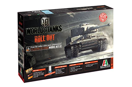 Italeri 510036502 - 1:35 Panzerkampfwagen VI Tiger World of Tanks