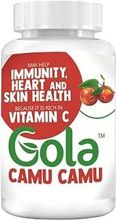 Gola Camu Camu Extract in Vegan Capsules - 400mg 60 Capsules - Source of Vitamin C 100% Natural, Superfruit