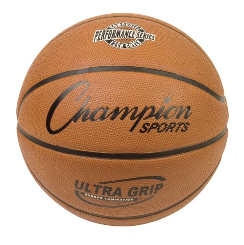 "Champion Sports Composite Game Basketballs, Official (Size 7 - 29.5"")"