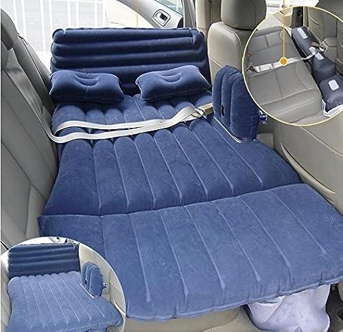 Z9CTHDF25JL Car Matelas lit gonflable de voiture siège auto Auto SUV de voiture Conduite veille Tapis lit enfant de voyage et de voiture pour ceinture de sécurité