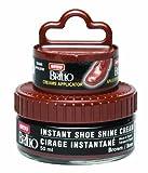 Moneysworth & Best Instant Shoe Shine Cream Kit, Medium Brown, 50 ml