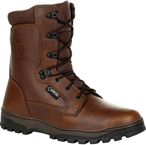 Rocky Outback Plain Toe Gore TEX Waterproof Outdoor Boot Size 13 W Brown product image