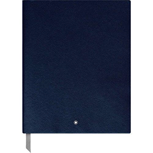 Montblanc 116930 Cuaderno de dibujo Fine Stationery #149 – bloc A4 para dibujar con hojas en blanco, azul índigo