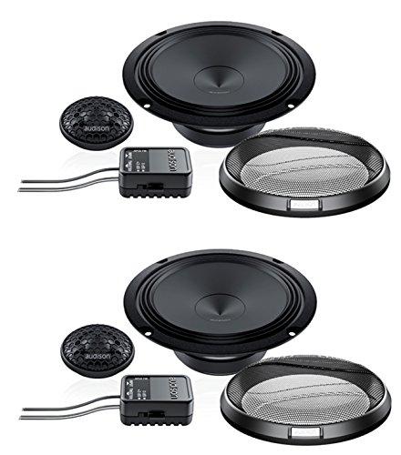 Audison Prima apk16516cm (16,5cm) Komponenten Lautsprecher System mit 26mm Hochtöner