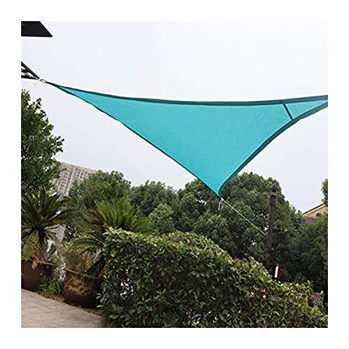 GuoWei Toldo Vela De Sombra, Pabellón De Jardín Triangular Resistente A Los Rayos UV, Lona Impermeable para Toldo para Patio De Camping, Tamaño Personalizado (Color : Azul Claro, Size : 6x6x6m)
