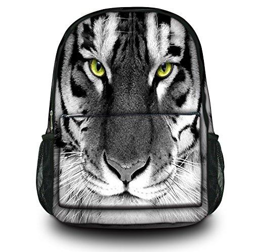 Zaino Sportivo Multifunzionale Luxburg Design , Motivo : Occhi di tigre