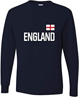 Go All Out Adult Team England British Pride Long Sleeve T-Shirt