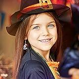 Kesote 30x Halloween Deko Streudeko Tischdeko Konfetti Kunstharz Mini Zubehör Kunstharz Miniatur Klein Figur zum Basteln DIY Geschenk Mitgebsel - 5