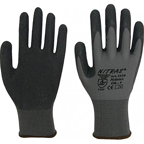 DeWALT Handkreissäge mit Führungsschiene (150 cm) im SET inkl. Vorhängeschloss + 24x Arbeitshandschuhe – werkstatt-king.de – DWE576KR, Kreissäge - 4