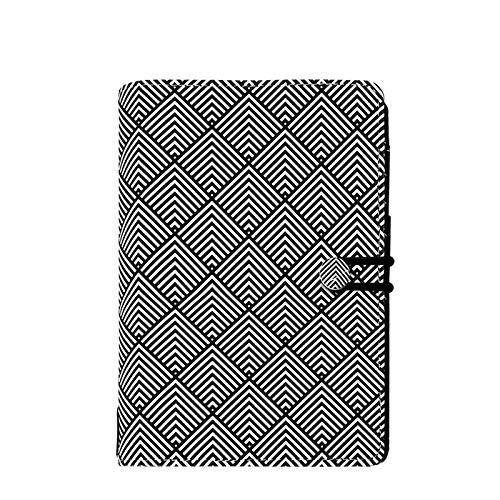 Filofax Personal Impressions Organizer schwarz/weiß