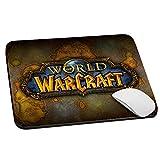 SLIDE Mouse Pad Tappetino per Mouse, 20x24 cm Antiscivolo, PRECISIONE e SCORREVOLEZZA Massima, per PC, Laptop, Notebook, con Stampa Grafica, Gaming Wow World of Warcraft