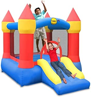 Happy Hop Inflatable Bouncy Castle With Slide For Children