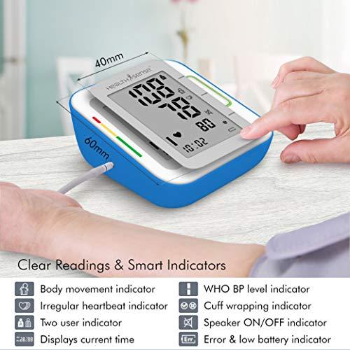 HealthSense Blood Pressure Monitor Machine