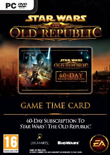 [UK-Import]Star Wars The Old Republic Time Card 60 Day Game PC