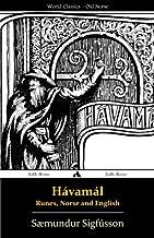 Hávamál - Runes, Norse and English (Icelandic Edition)