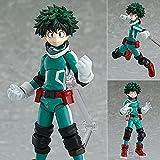 15Cm Figma 323 Anime My Hero Academia Action Figure, Character Midoriya Izuku Vinyl Upgrade Figure C...