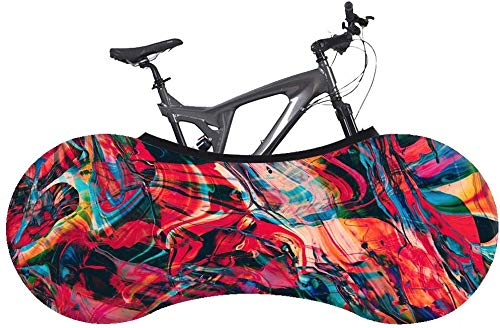 Yppss Bike Cover Bicycle Indoor Storage Cover-D5 Style-Best Solution for Indoor Bicycle Storage,Tire Size: 26-28 inches Color : D5, Size : 16055CM(2628INCH)