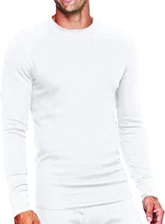 DUNLOP Men's Thermal Top, Fleece Lined; Thermal Shirts for Men
