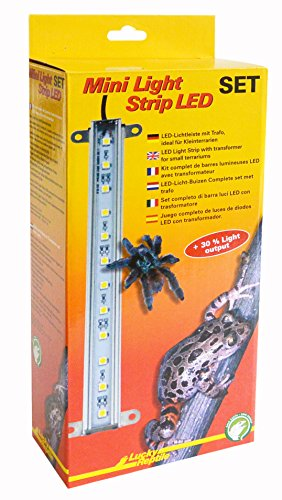 Lucky Reptile MLS-1 Mini Light Strip LED Komplettset, Lichtleiste inklusive Trafo