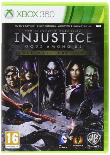 Xbox 360 - Injustice: Gods Among Us - Ultimate Edition - [PAL ITA - MULTILANGUAGE]