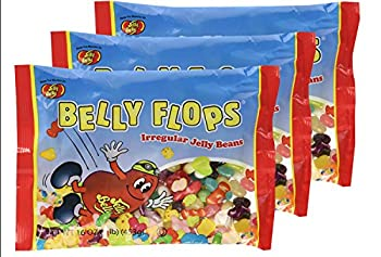 Jelly Belly Belly Flops  1 Pound Bags  3 Pack 16 Ounces